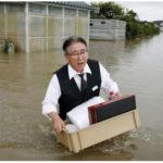 Câu chuyện nước ngập và văn hoá lãnh đạo Nhật Bản