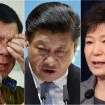 """Năm 2016 nhiều """"bầm dập"""" của các lãnh đạo châu Á"""