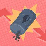 Dầu rơi tự do 5.1%, rớt mốc 46 USD khi nguồn cung tại Mỹ bất ngờ tăng mạnh hơn dự báo