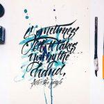 Typography tạo cá tính cho công ty khởi nghiệp