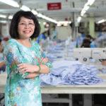 Bà Nguyễn Thị Điền – Tổng giám đốc Công ty May Thêu Đan Giày An Phước: Kiến tha lâu sẽ đầy tổ