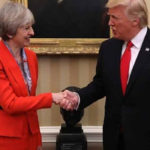 Thủ tướng Anh đề nghị Tổng thống Trump tránh người biểu tình khi tới thăm