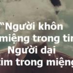 10 triết lý sống của người khôn ngoan